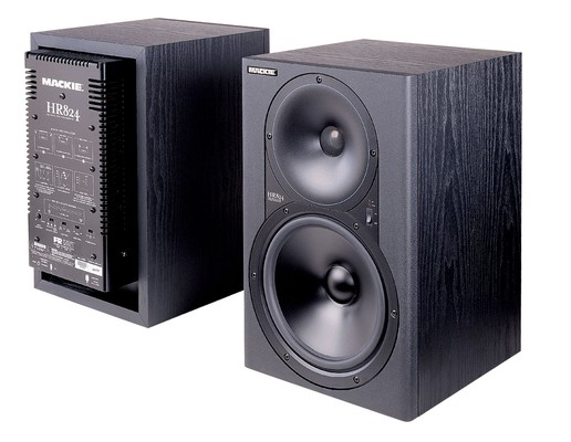 Mackie HR824 active monitors